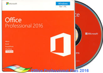 Chiny Oryginalne Office 2016 Professional FPP, Microsoft Office Professional Plus 2016 DVD dostawca