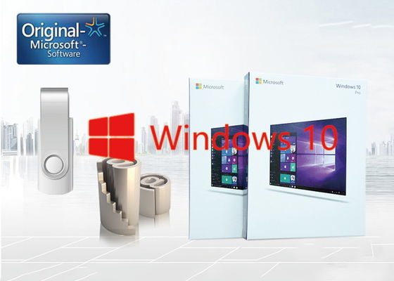 Chiny Microsoft Windows 10 FPP, Windows 10 Home Fpp No Language Version Limitation dostawca