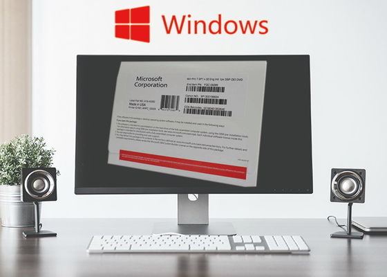Chiny Ireland Windows 7 License Sticker / Windows 7 Professional Coa Naklejka FQC-80730 dostawca