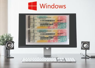 Chiny Windows 7 System System Key / Windows 7 Pro Coa Naklejka Procesor 1GHz 64Bit dostawca