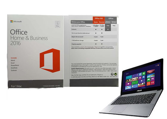 Microsoft Office Home and Business 2016 Pełna wersja 64bit Online Aktywuj na PC