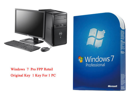 MS Windows 7 Pro Pack Online Aktywuj systemy 64-bitowe Oryginalne FPP Retail