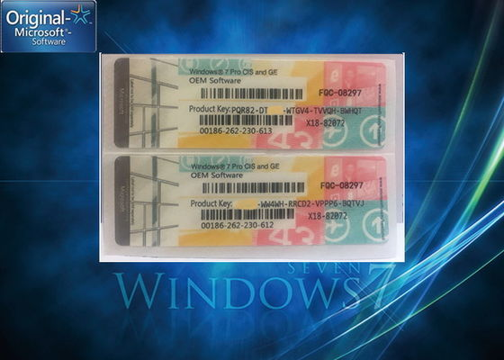Wielojęzyczny Windows 7 Professional Product Key / Windows 7 Coa License Key